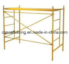 Drop Lock Mason Frame Scaffolding for Working Platform
