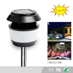 2016 Hot Module Solar LED Garden Courtyard Lawn Lantern Light with Mosquito Repellent Killer