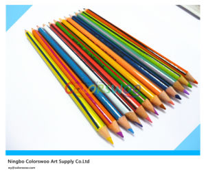 7′′ Double Tip Color Pencils for Students and Kids pictures & photos