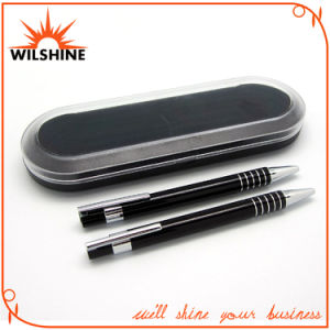Popular Aluminum Pen Set for Premium Gift (BP0198BK) pictures & photos