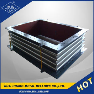 Factory Price Rectangle Metal Bellow Expansion Joint pictures & photos