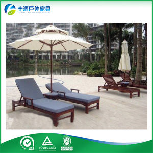 Teak Outdoor Furniture, Teak Garden Furniture, Outdoor Wooden Lounge (FY-005CB)