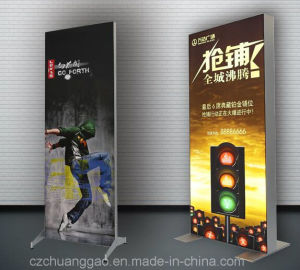 Freestanding Aluminium Double Sided Fabric LED Lighting Box pictures & photos
