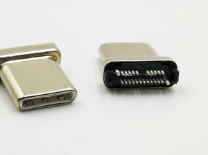 High Quality USB 3.1 Type C Male Plug 22 Pin USB-If Number: 5, 200, 000, 284 pictures & photos