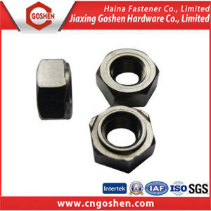 Plain Carbon Steel Weld Nut DIN929 / Hexagon Weld Nuts pictures & photos