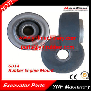 Excavator Parts 6D14 Rubber Engine Mount pictures & photos