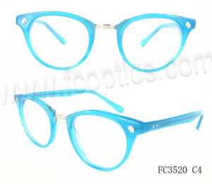 Acetate Retro Latest Optical Frames with Ce pictures & photos