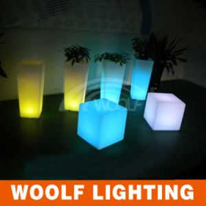 Rechargeable LED Cube, Light Cube, LED Cube Chair pictures & photos