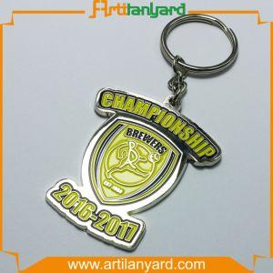 Customer Printing /Debossed /Laser Logo Metal Keychain pictures & photos