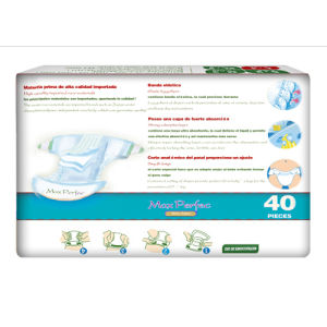 Soft and Breathable Baby Diapers (blue package, M) pictures & photos