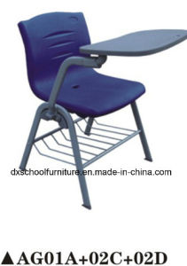 Training Chair Plastic Chair with Writing Board and Drawer pictures & photos
