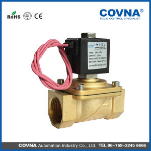 Water Solenoid Valve with DIN Coil