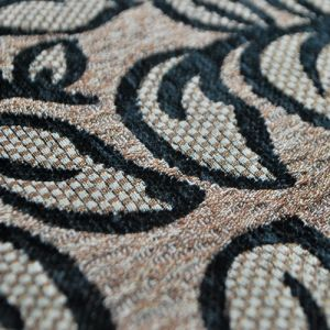 Types of Sofa Material Fabric by Black Chenille Woven Fabric pictures & photos