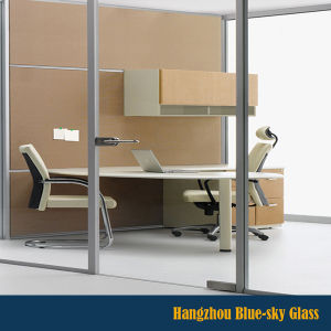 Lt Aluminum Frame Tempered Partition Wall Glass