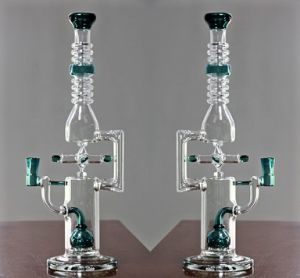 Rotatable Windmill Glass Water Pipe Oil Rigs Smoking Pipes pictures & photos