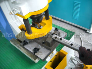 Q35y-30 Hydraulic Iron Worker/Hydraulic Conbined Punching and Shearing Machine with Notching /Angle Cutting Machine pictures & photos