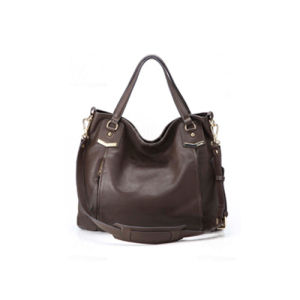 Fashion Leisure Bag Leather Product Lady Handbag (LDO-15005) pictures & photos