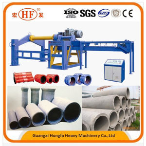 Hongfa Hf-2000 Horizontal Type Cement Pipe Making Machine pictures & photos