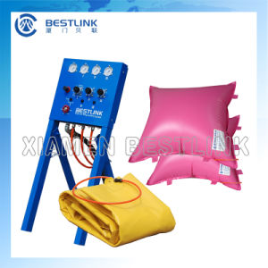 Factory Stone Block Push Device Thin Polymer Cushion Air Bag pictures & photos