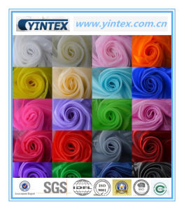 Luxury Hot Sale Colorful Gauze Fabric pictures & photos