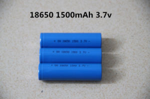 3.7V 2200mAh Lithium Li-ion Battery (ICR18650) pictures & photos