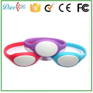 13.56MHz ISO14443A Silicon Wristband Diameter 74mm or 65mm pictures & photos