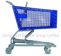 Heavy Duty Supermarket Plastic Shopping Trolley pictures & photos