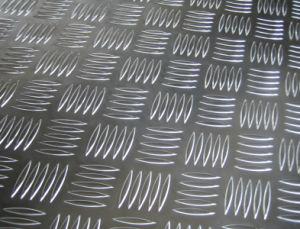 Aluminium/Aluminum Five Bar Sheet for Floor pictures & photos
