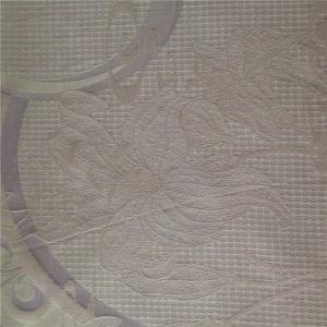 Yarn Dyed Jacquard Silk Protein Fibre Satin