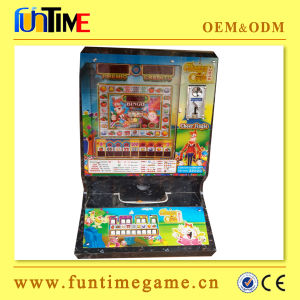 Funtime Coin Operated Gambling Mario Machine for Sale pictures & photos