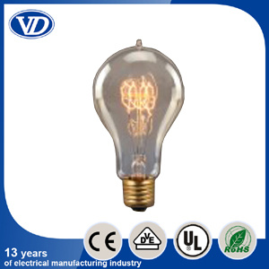 Vintage Carbon Filament Light Bulb A23