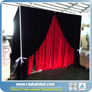 Customized Photo Pipe and Drape System Booth Used Steel Pipe pictures & photos