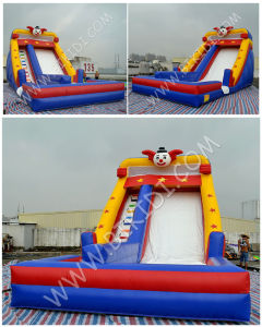 Clown Inflatable Water Slide, Inflatable Bouncy Slide for Sale, Good Price Inflatbales pictures & photos