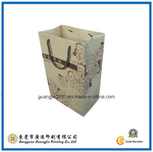 Kraft Paper Shopping Packaging Bag (GJ-Bag334) pictures & photos
