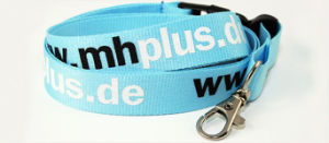 Flat Polyester Lanyard pictures & photos