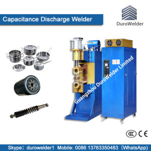 Auto Switch Gear Components Capacitive Discharge Spot Welding Machine pictures & photos