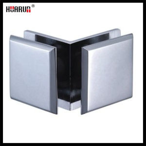 Zinc Alloy 90 Degree Glass to Glass Clips (HR1400H-2) pictures & photos