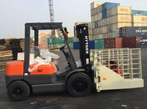 3 Ton Low Price Diesel Block Clamp Forklfit pictures & photos