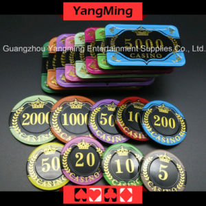 Acrylic crystal Lpoker Chips (YM-CP30-31) pictures & photos