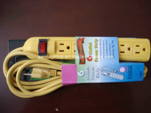 OEM Color South American 6 Way Surge Protector Power Strip pictures & photos