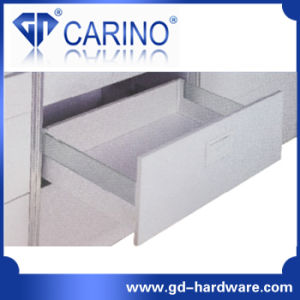 Double Wall Drawer System/Drawer System with Class or Aluminum Wall pictures & photos