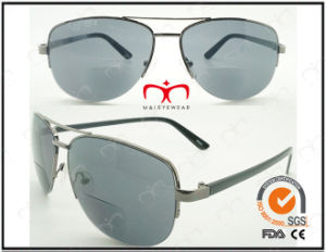 Classic Fashionable Hot Selling UV400 Protection Metal Bifocal Sunglasses (60060) pictures & photos