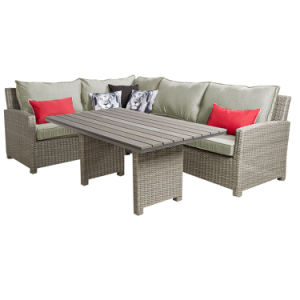 China Wicker Rattan Sectional Lounge Sofa Set Garden Outdoor