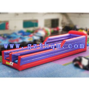 Two Lanes Adult Inflatable Bungee Run/Basketball Inflatable Sports for Kids pictures & photos