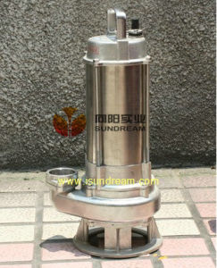 Stainless Submersible Sewage Pumps pictures & photos