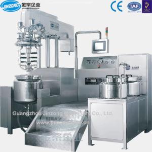 Jinzong Jrk Series Cosmetic Bottom Homogenizer Vacuum Emulsifying Machine pictures & photos