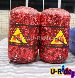 Inflatable Oil Barrels Paintball Bunker Toy pictures & photos