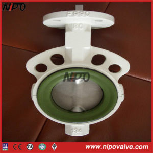 Wafer Type Butterfly Valve in Cast Iron/ Ductile Iron pictures & photos