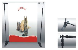 Advertising Folding Adjustable Banner Screen pictures & photos