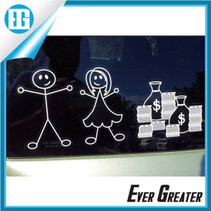 Silk Screen Familiy Car Window Stickers OEM pictures & photos